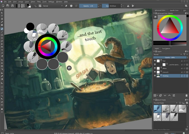 Krita is the best open source software for digital artists - Real Linux User
