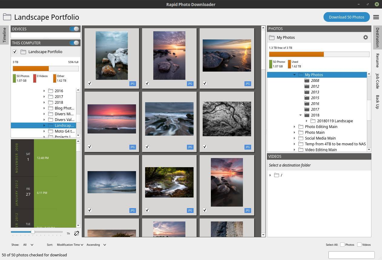 Rapid Photo Downloader Is The Best Open Source Photo And Video Download Software For Linux Real Linux User
