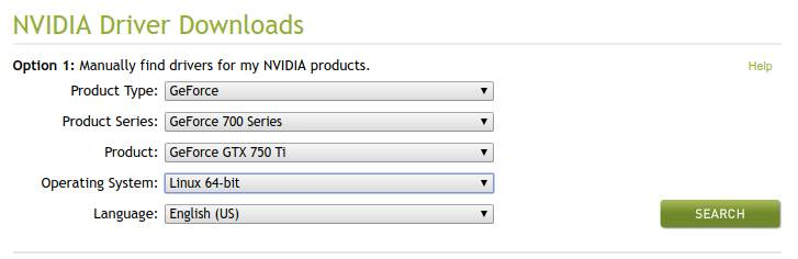 cant install nvidia drivers linux mint