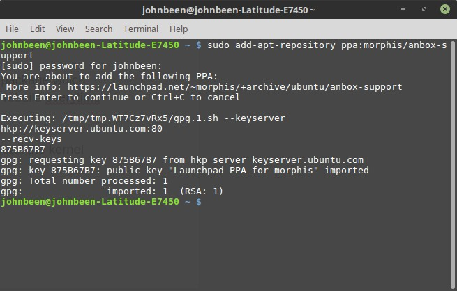 How to run Android apps in Linux Mint with Anbox - Real