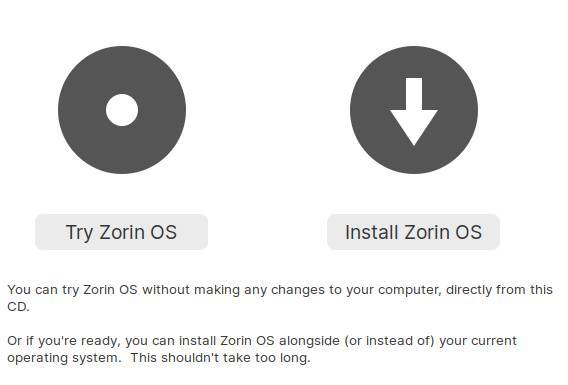 Try Zorin OS on a PC